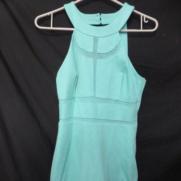 GUESS, medium, aqua, monaco bodycon dress, BNWT